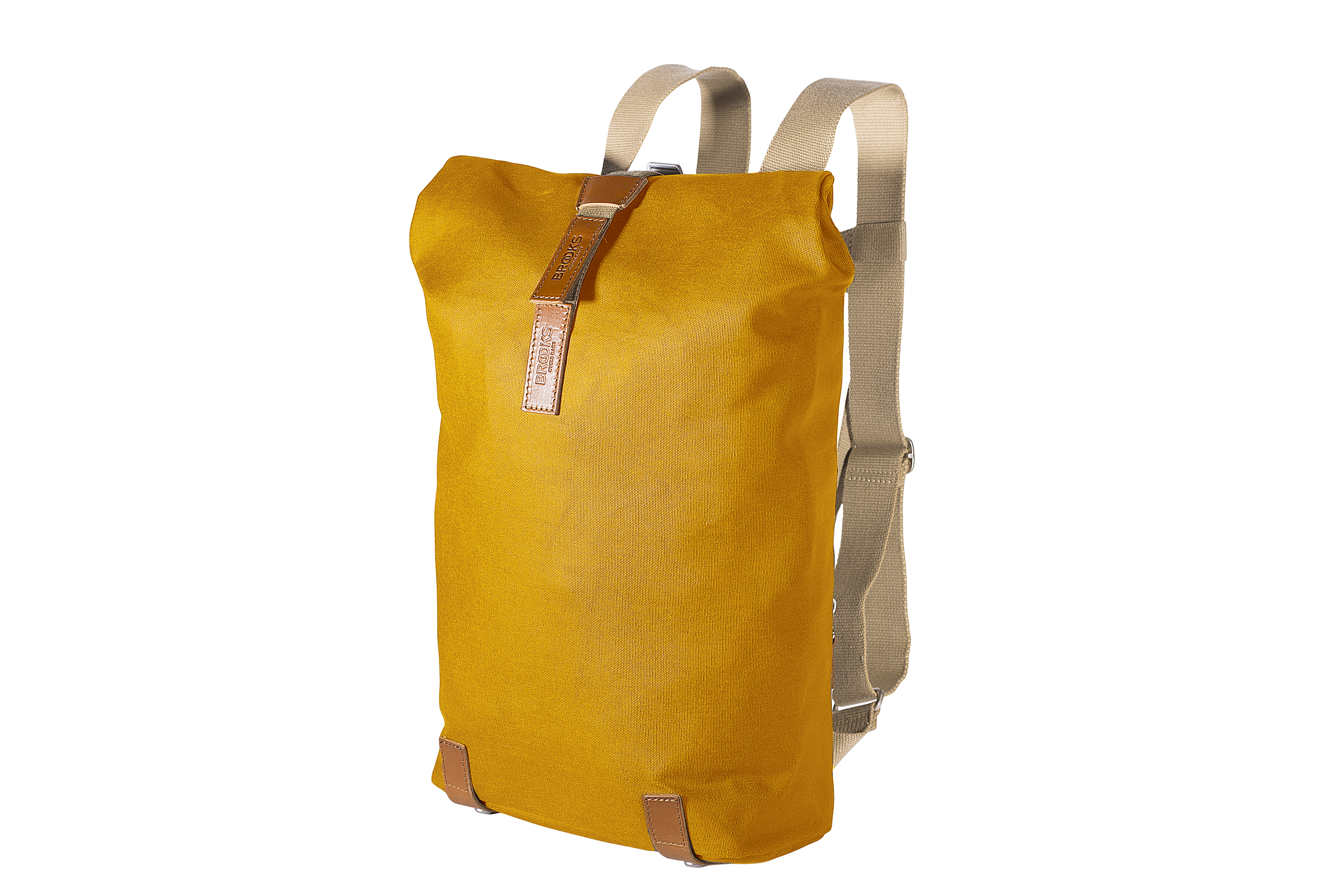 f25020c3f36 Brooks Backpack Pickwick Small Curry. The Pickwick is a versatile canvas  roll-top ...